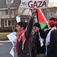 16-year old Iraqi-American poet and activist, Zaghloool at Nov. 16 protest